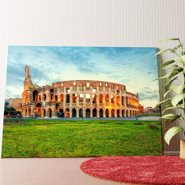 Personalisiertes Wandbild Kolosseum Rom