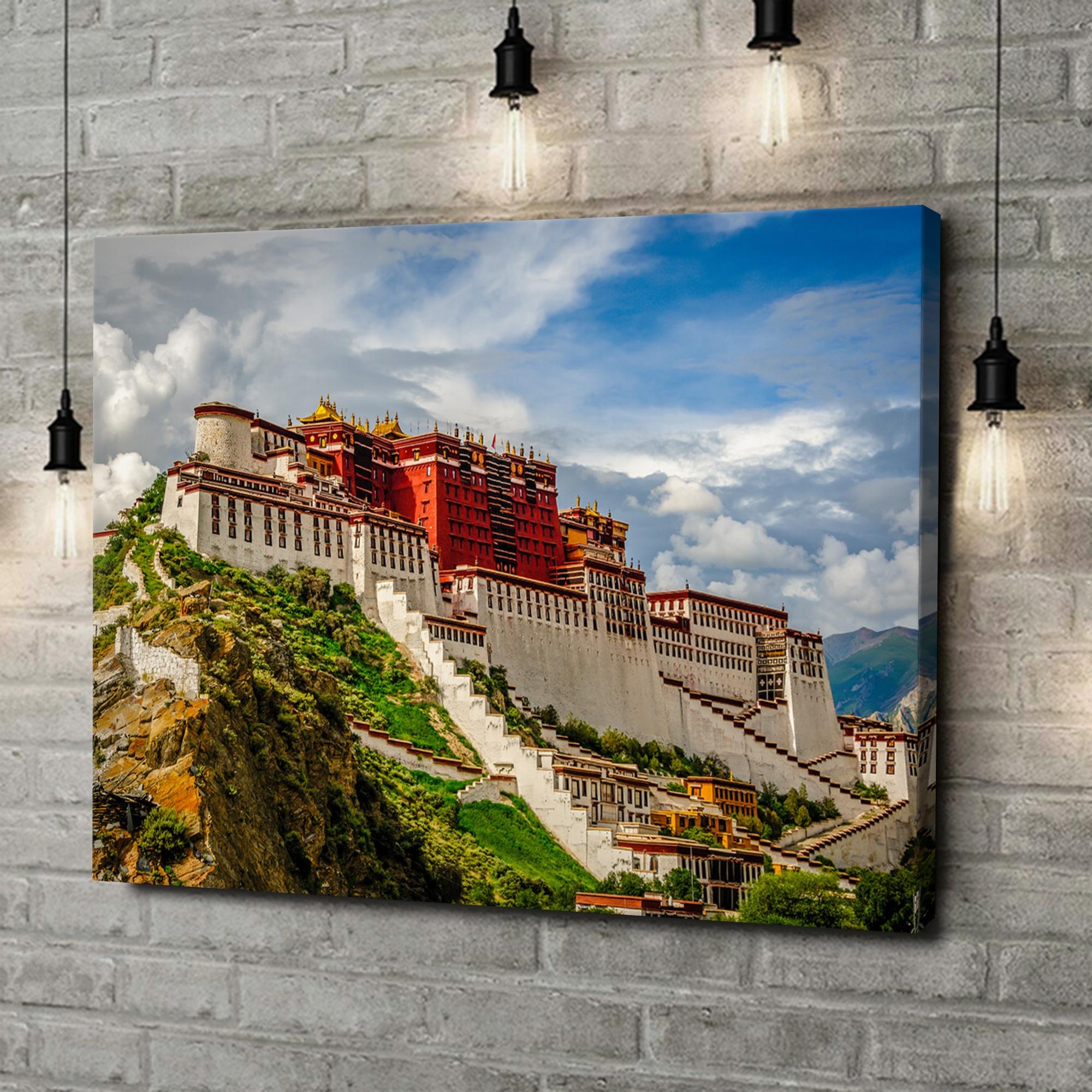 Leinwandbild personalisiert Portala Palast in Tibet