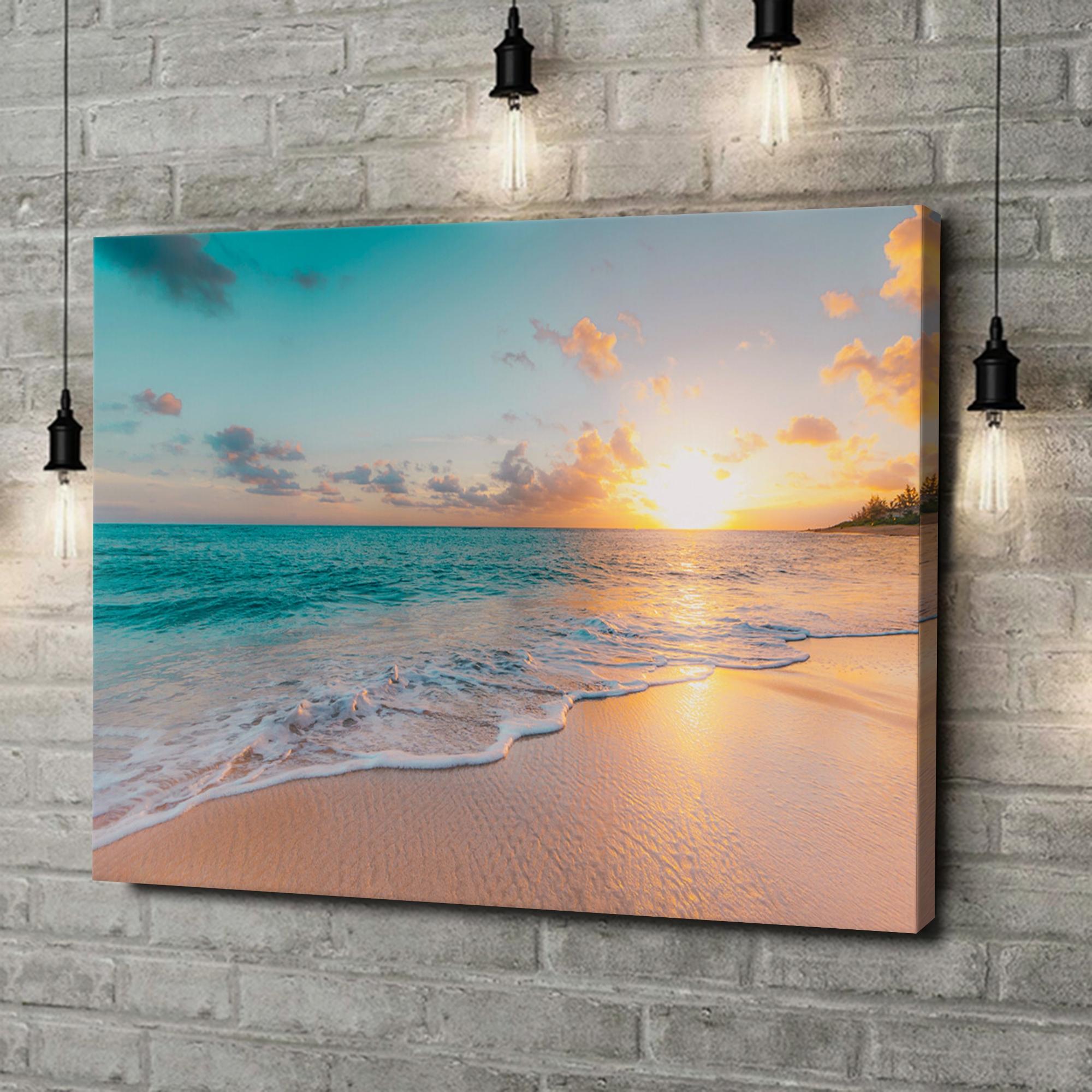 Leinwandbild personalisiert Strand in Thailand