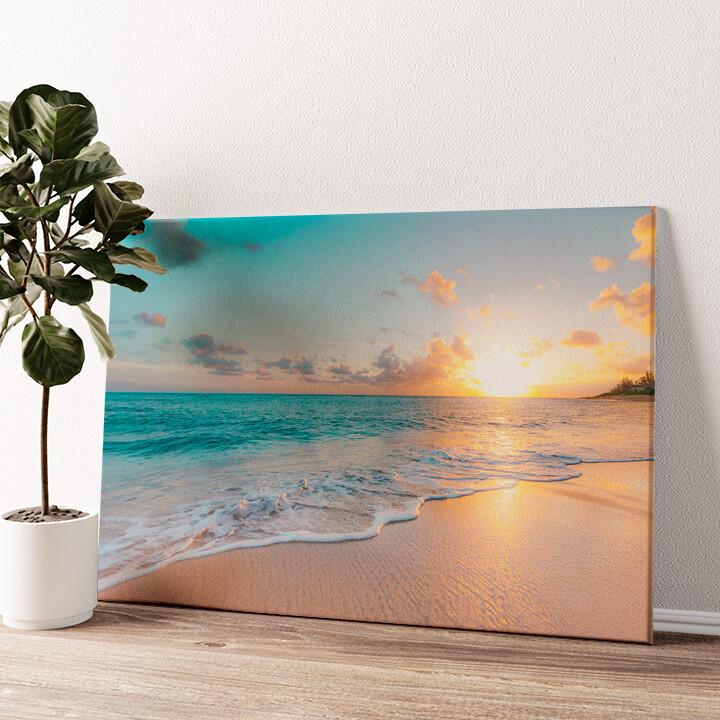 Strand in Thailand Wandbild personalisiert