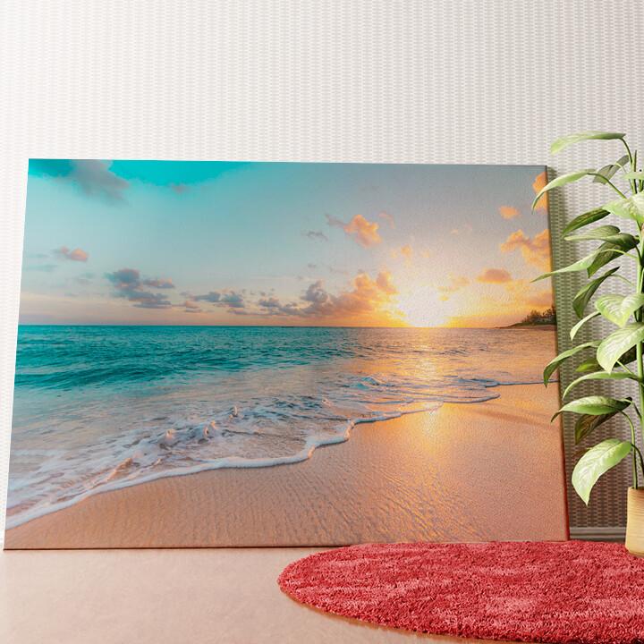Personalisiertes Wandbild Strand in Thailand