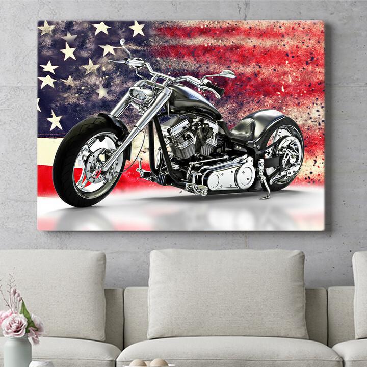 Personalisierbares Geschenk USA Chopper