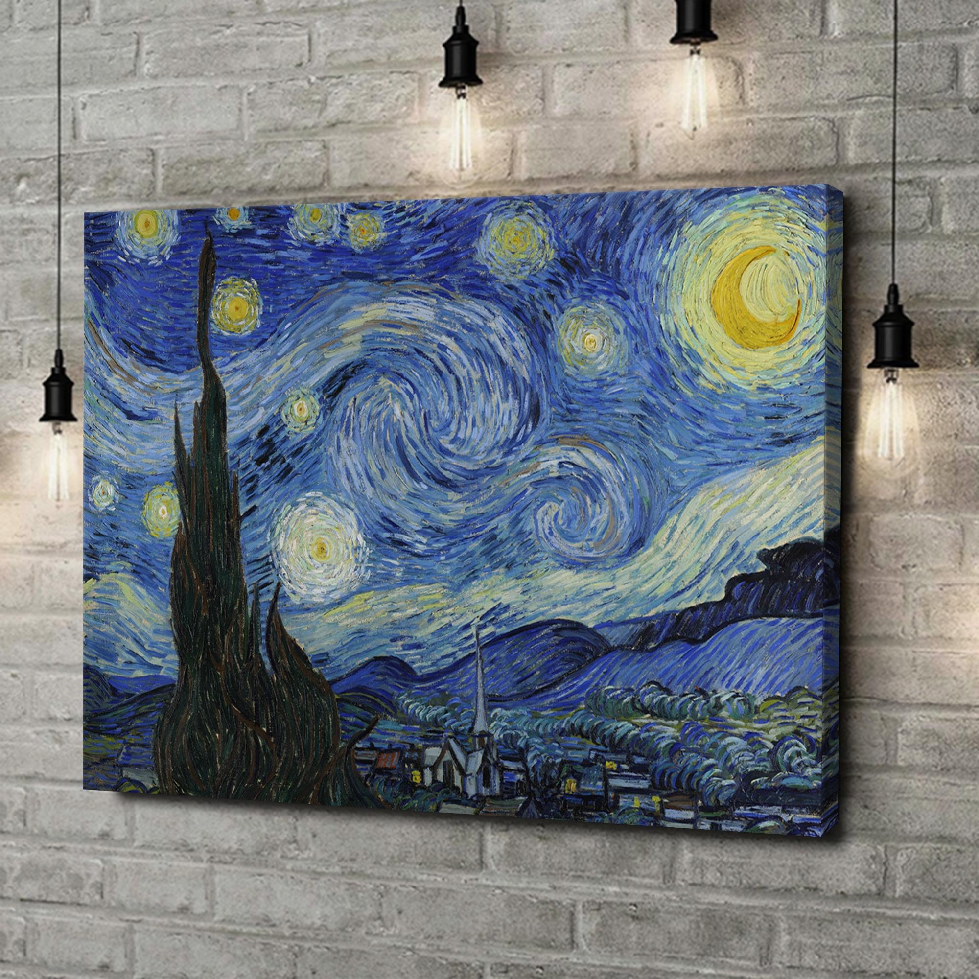 Leinwandbild personalisiert Sternennacht