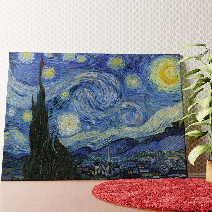Personalisiertes Wandbild Sternennacht