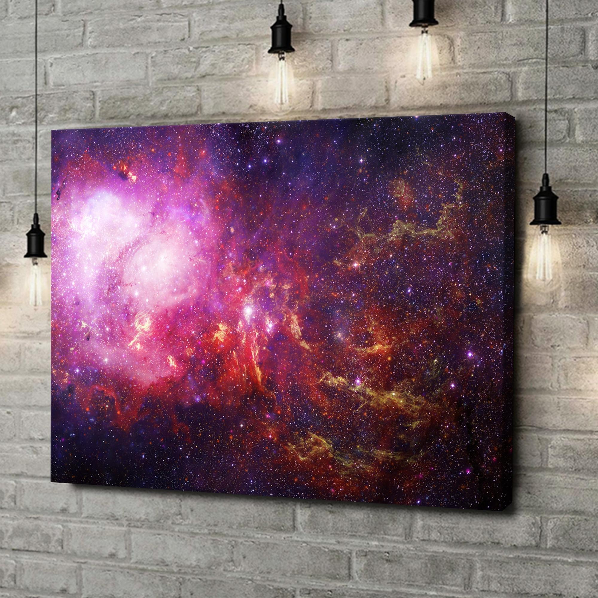 Leinwandbild personalisiert Galaxy