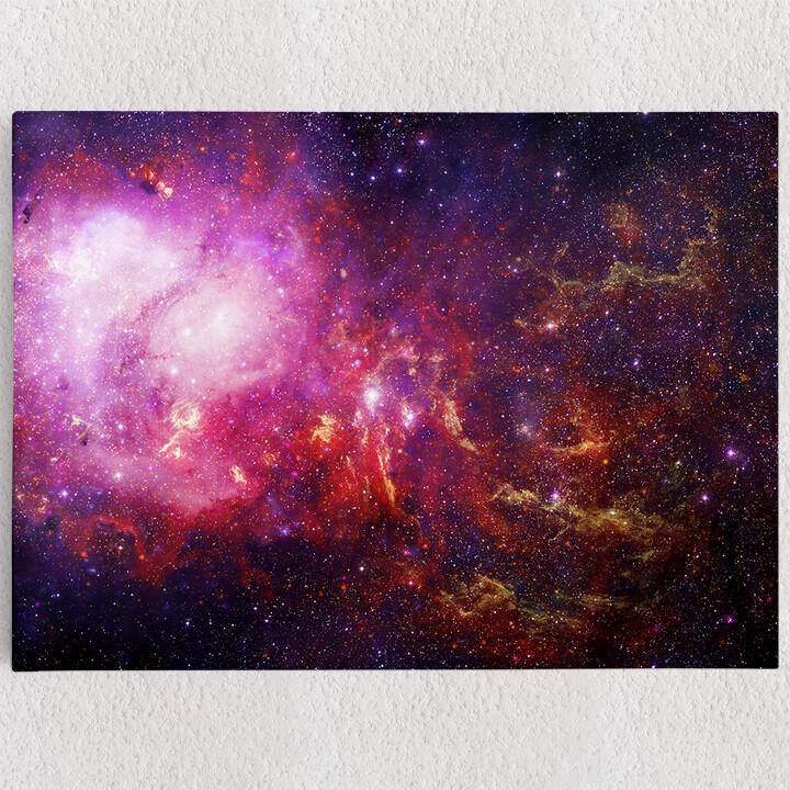 Personalisiertes Leinwandbild Galaxy