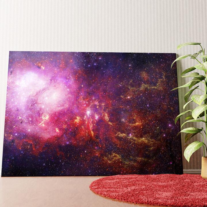 Personalisiertes Wandbild Galaxy