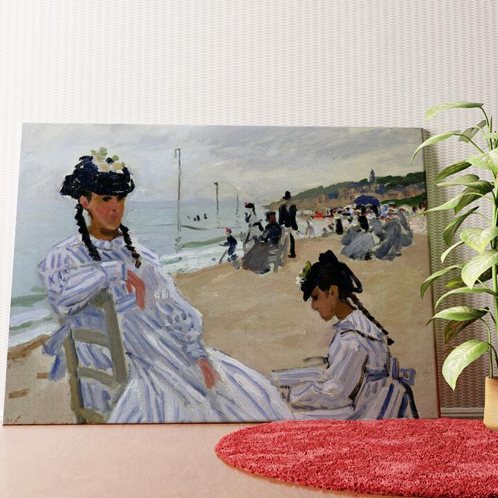 Personalisiertes Wandbild Am Strand in Trouville