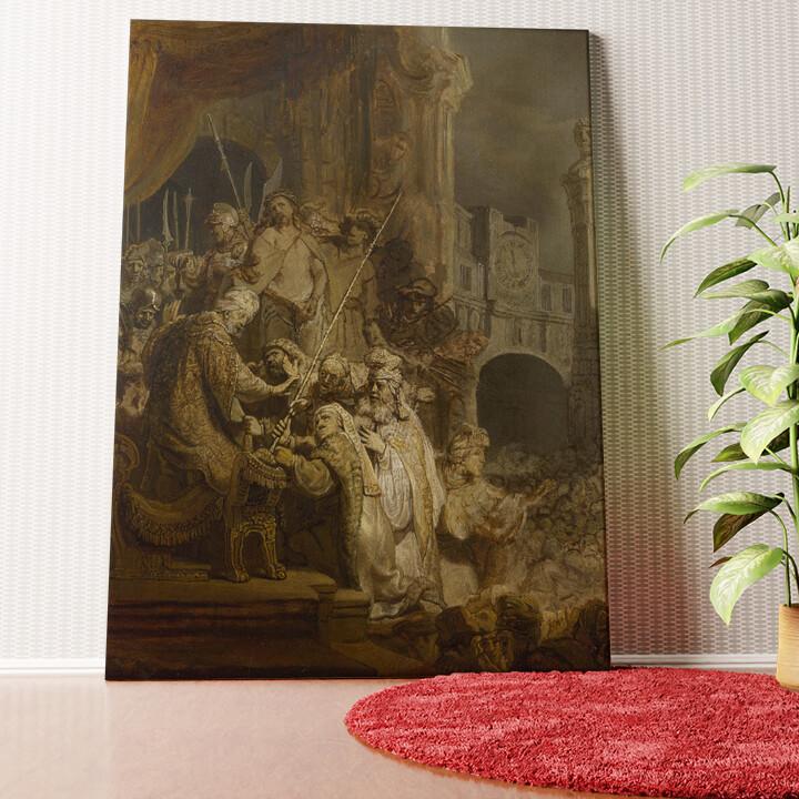 Personalisiertes Wandbild Ecce Homo