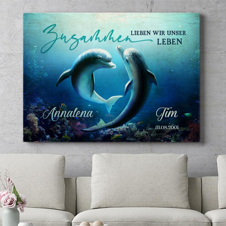 Personalisierbares Geschenk Ozean aus Liebe