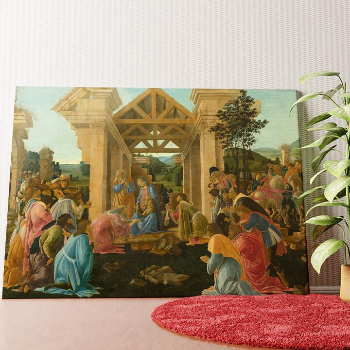 Personalisiertes Wandbild Anbetung der Heiligen drei Könige