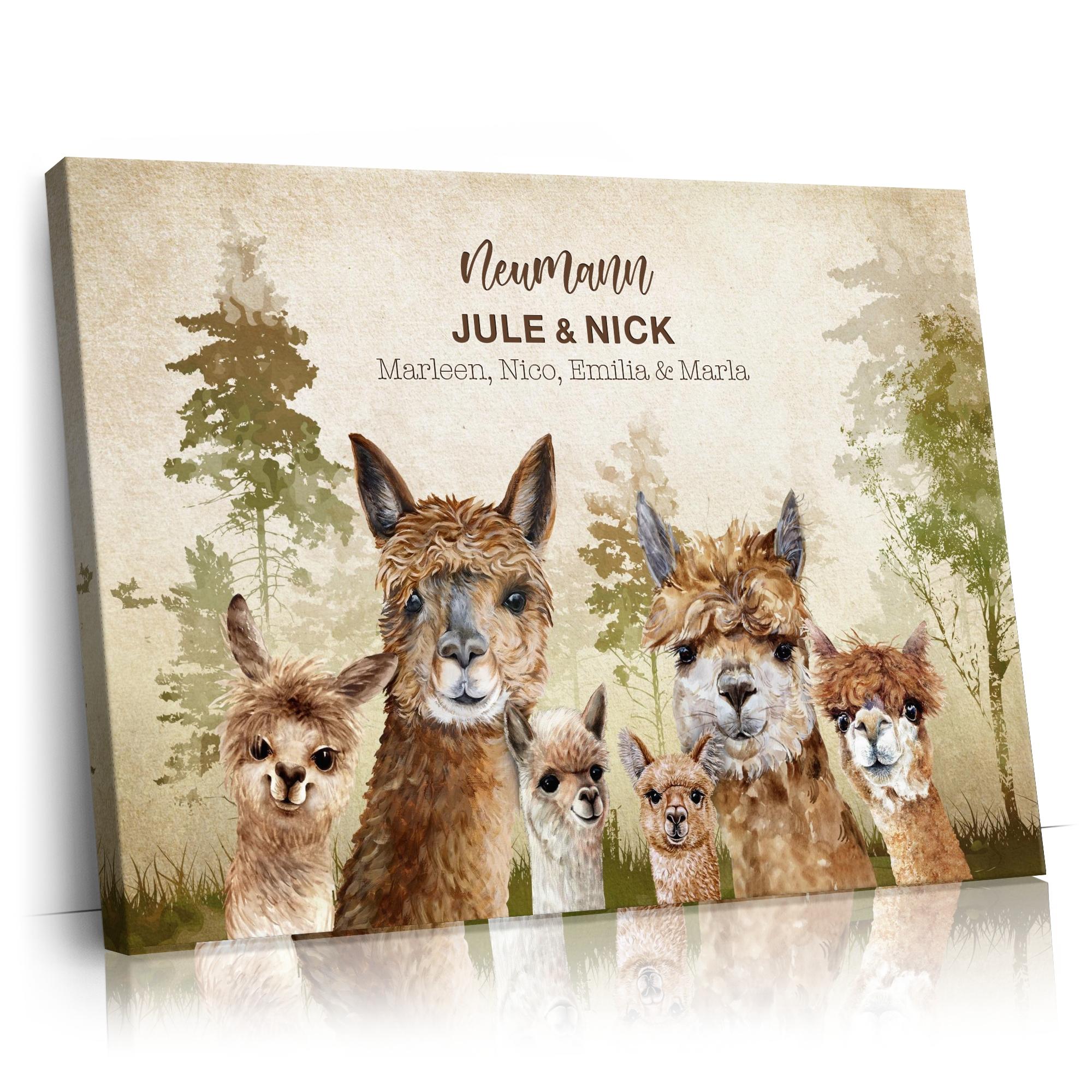 Alpacafamilie