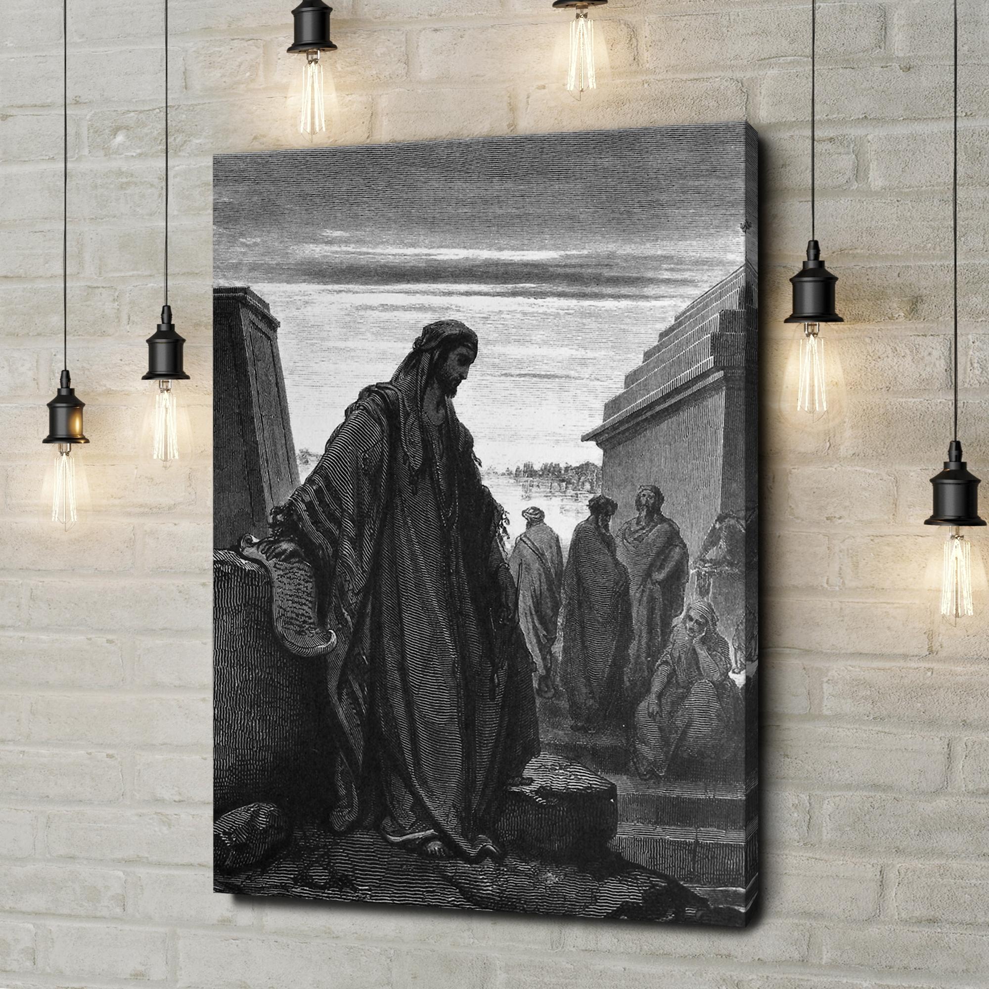 Leinwandbild personalisiert Prophet Daniel