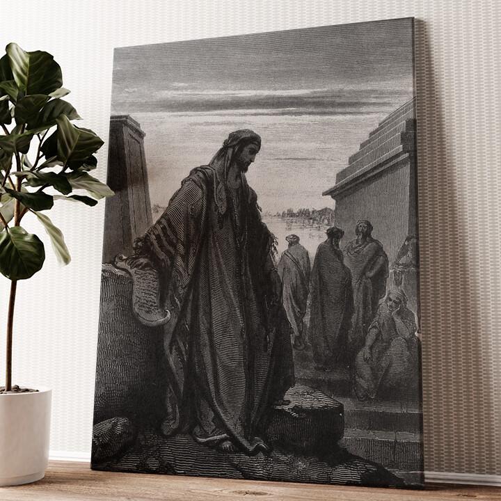 Prophet Daniel Wandbild personalisiert