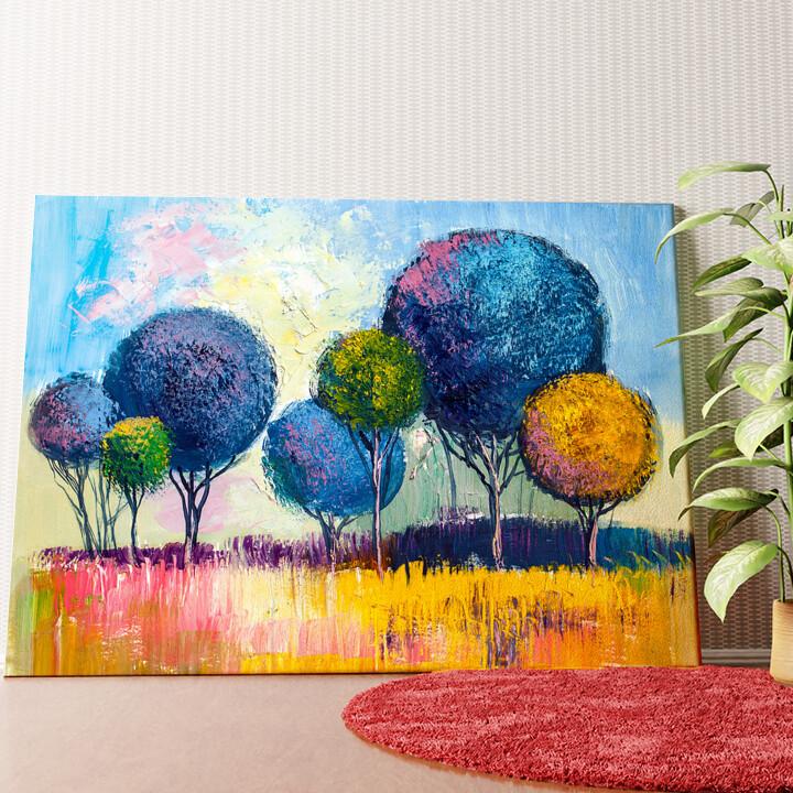 Personalisiertes Wandbild Ölgemälde Wald