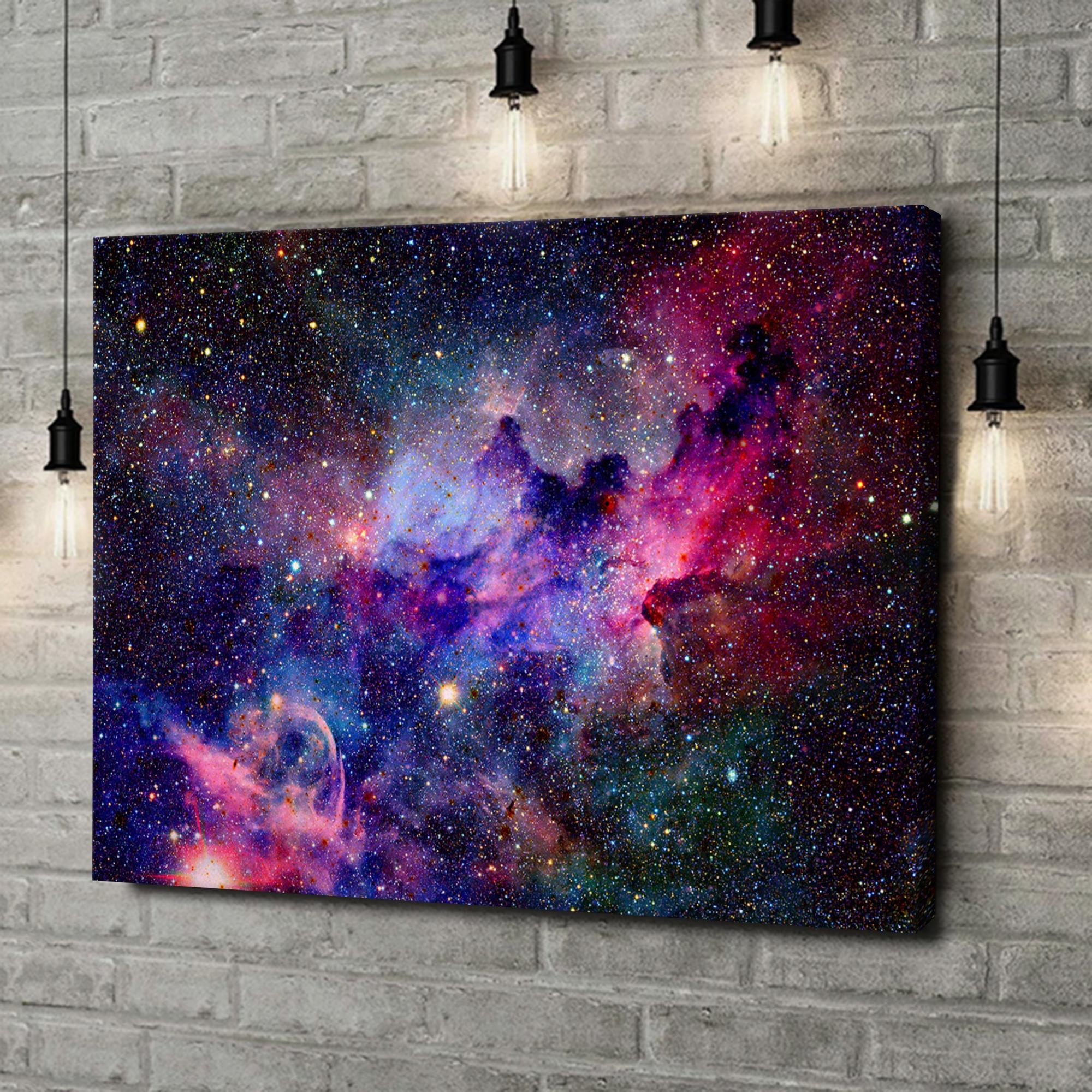 Leinwandbild personalisiert Nebula