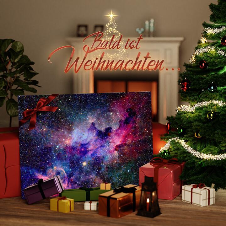 Liebesleinwand zu Weichnachten Nebula