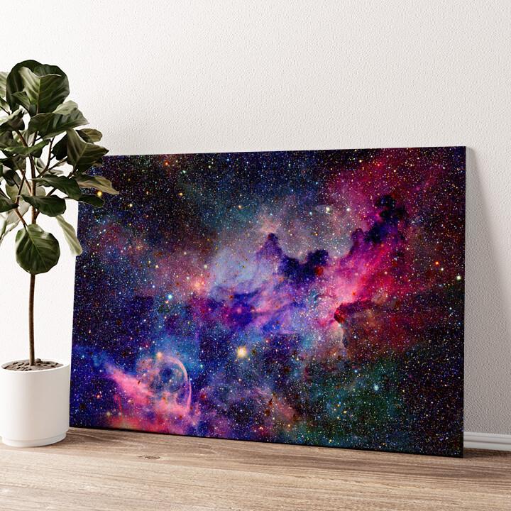 Nebula Wandbild personalisiert