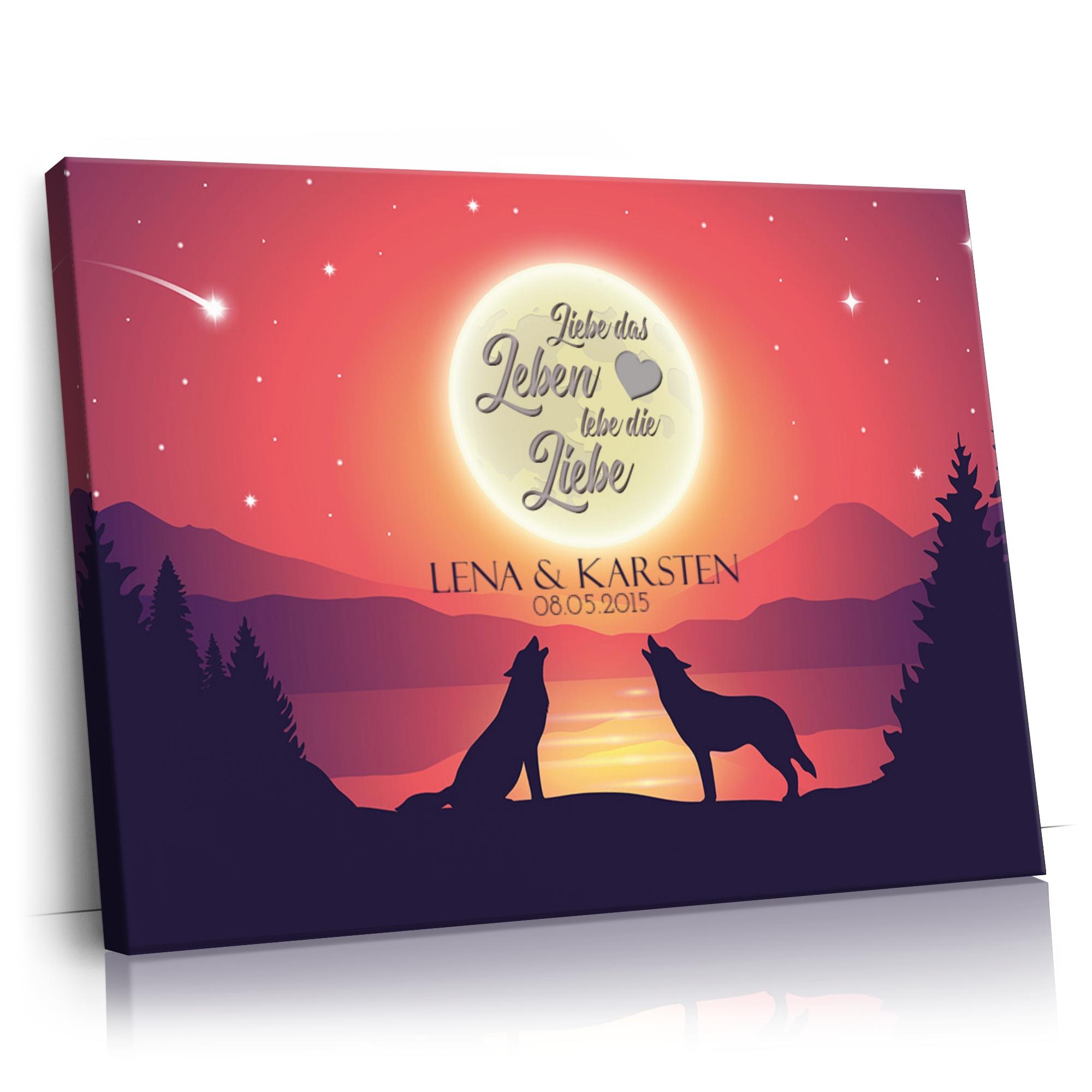 Liebe im Mondschein