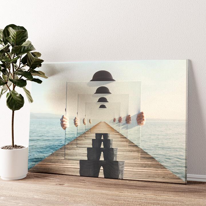 Unendliche Sicht Wandbild personalisiert
