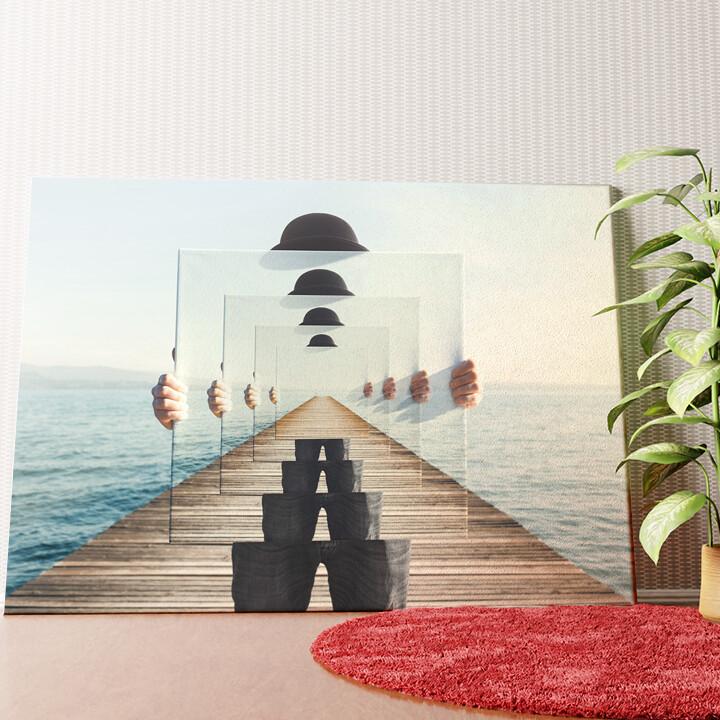 Personalisiertes Wandbild Unendliche Sicht