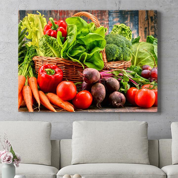 Personalisierbares Geschenk Gemüsesammlung