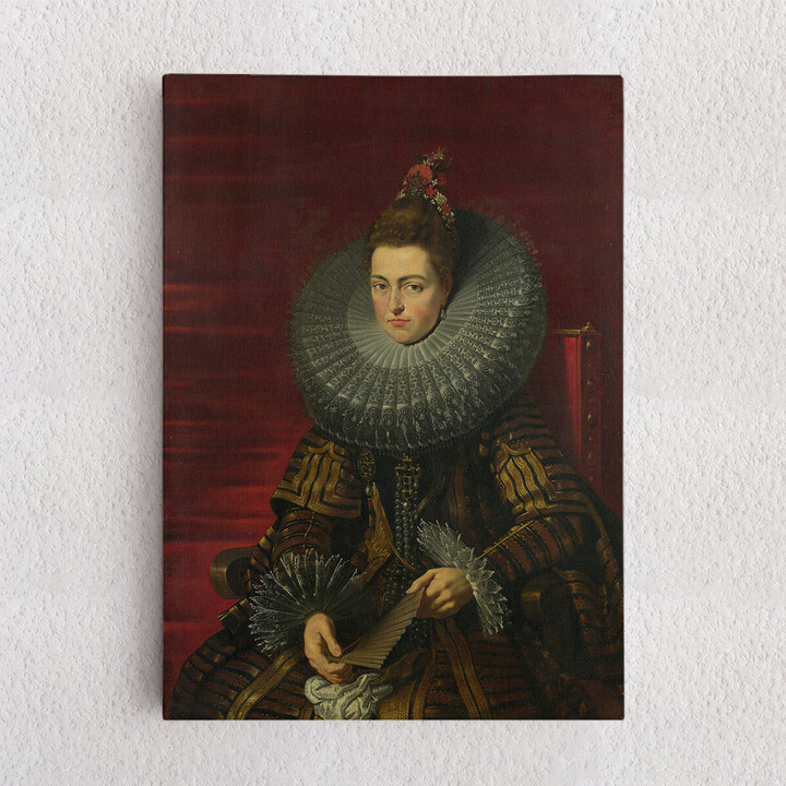 Personalisiertes Leinwandbild Isabella