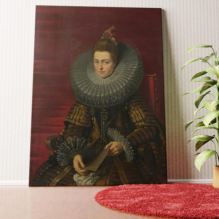 Personalisiertes Wandbild Isabella