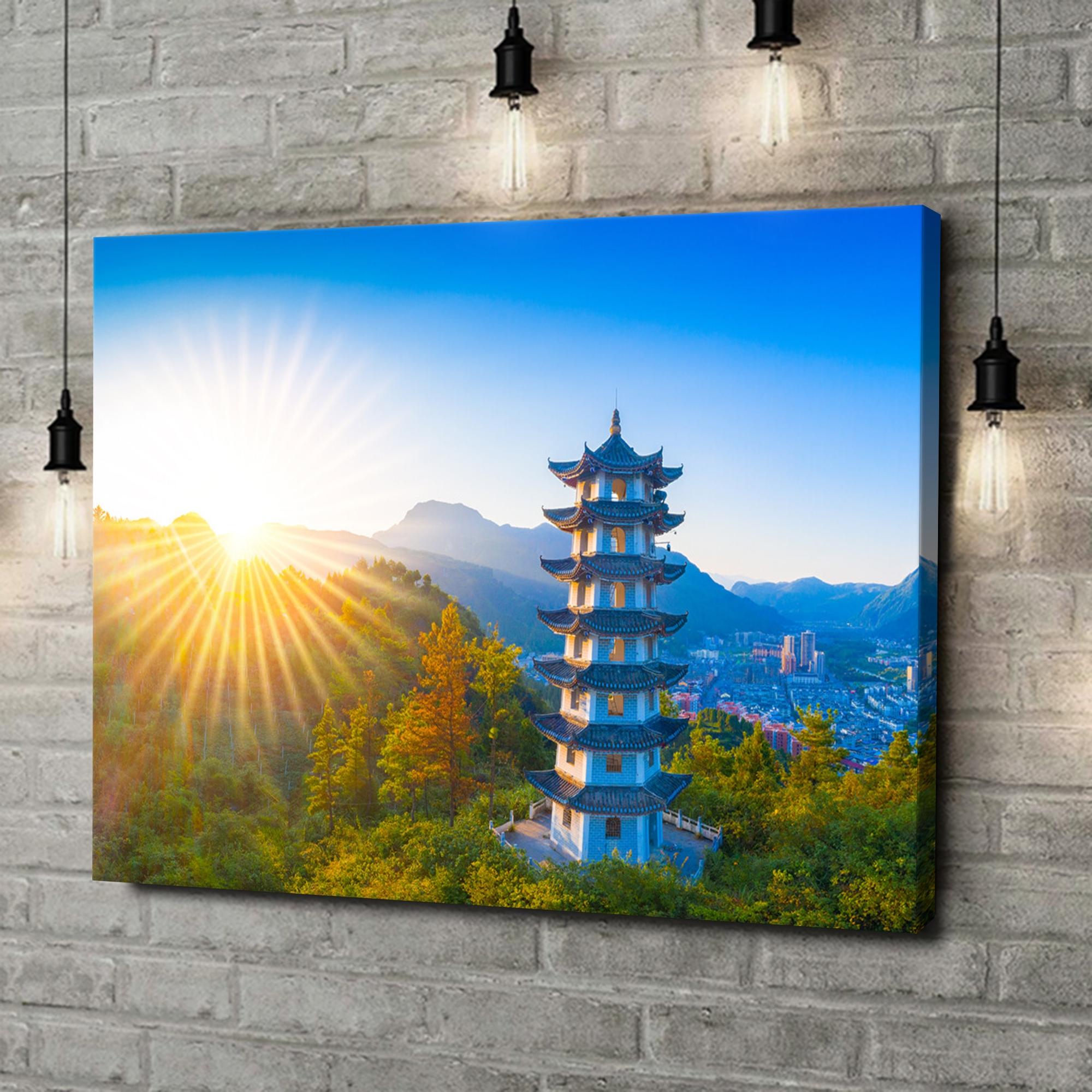 Leinwandbild personalisiert Jiangkou Tongren City Provinz Guizhou China