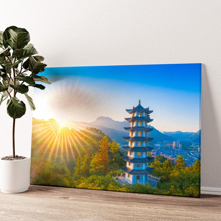 Jiangkou Tongren City Provinz Guizhou China Wandbild personalisiert