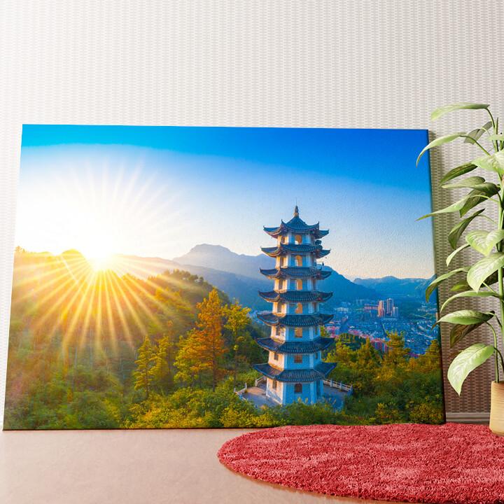Personalisiertes Wandbild Jiangkou Tongren City Provinz Guizhou China