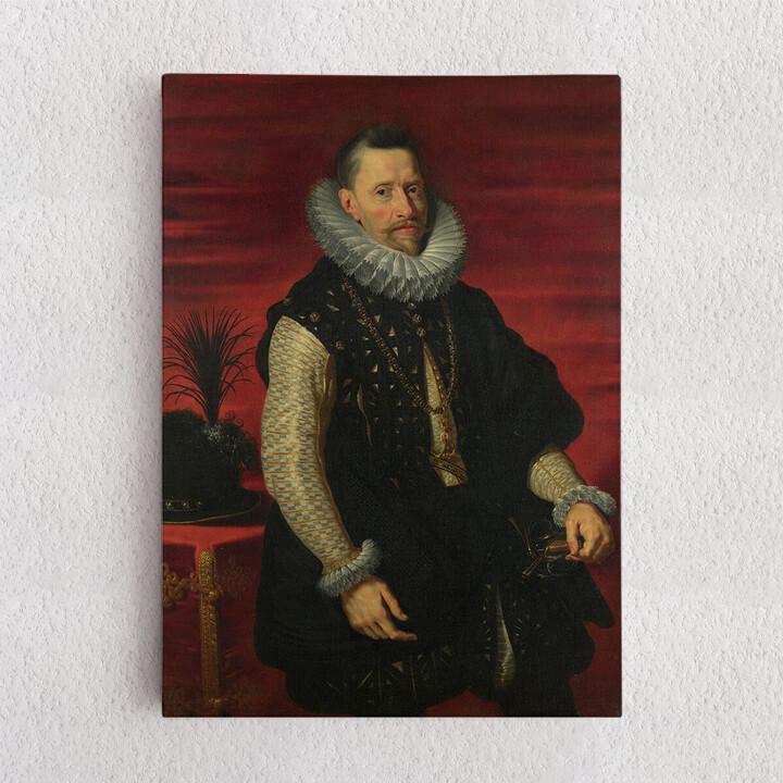 Personalisiertes Leinwandbild Erzherzog Albrecht VII.