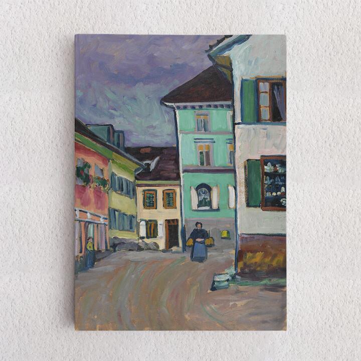 Personalisiertes Leinwandbild Johannesstraße