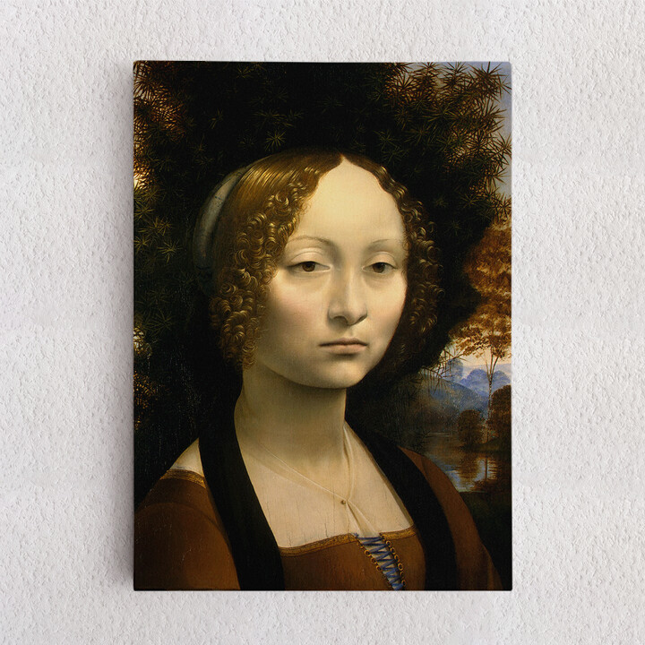 Personalisiertes Leinwandbild Ginevra de Benci