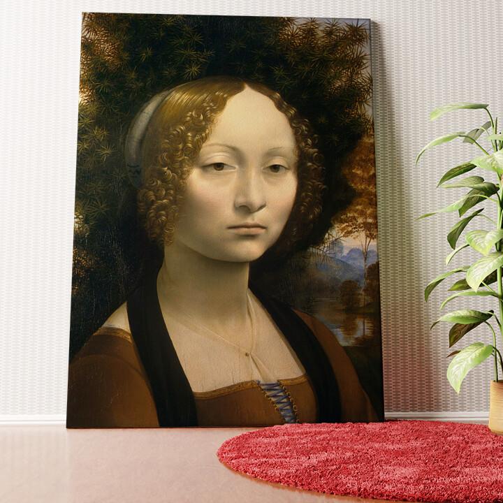 Personalisiertes Wandbild Ginevra de Benci