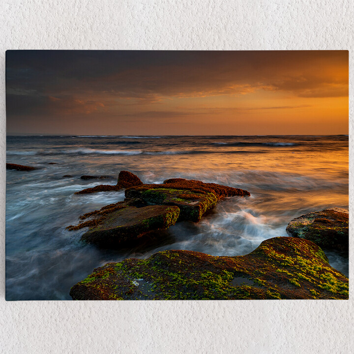 Personalisiertes Leinwandbild Mengening Beach Balo Indonesien