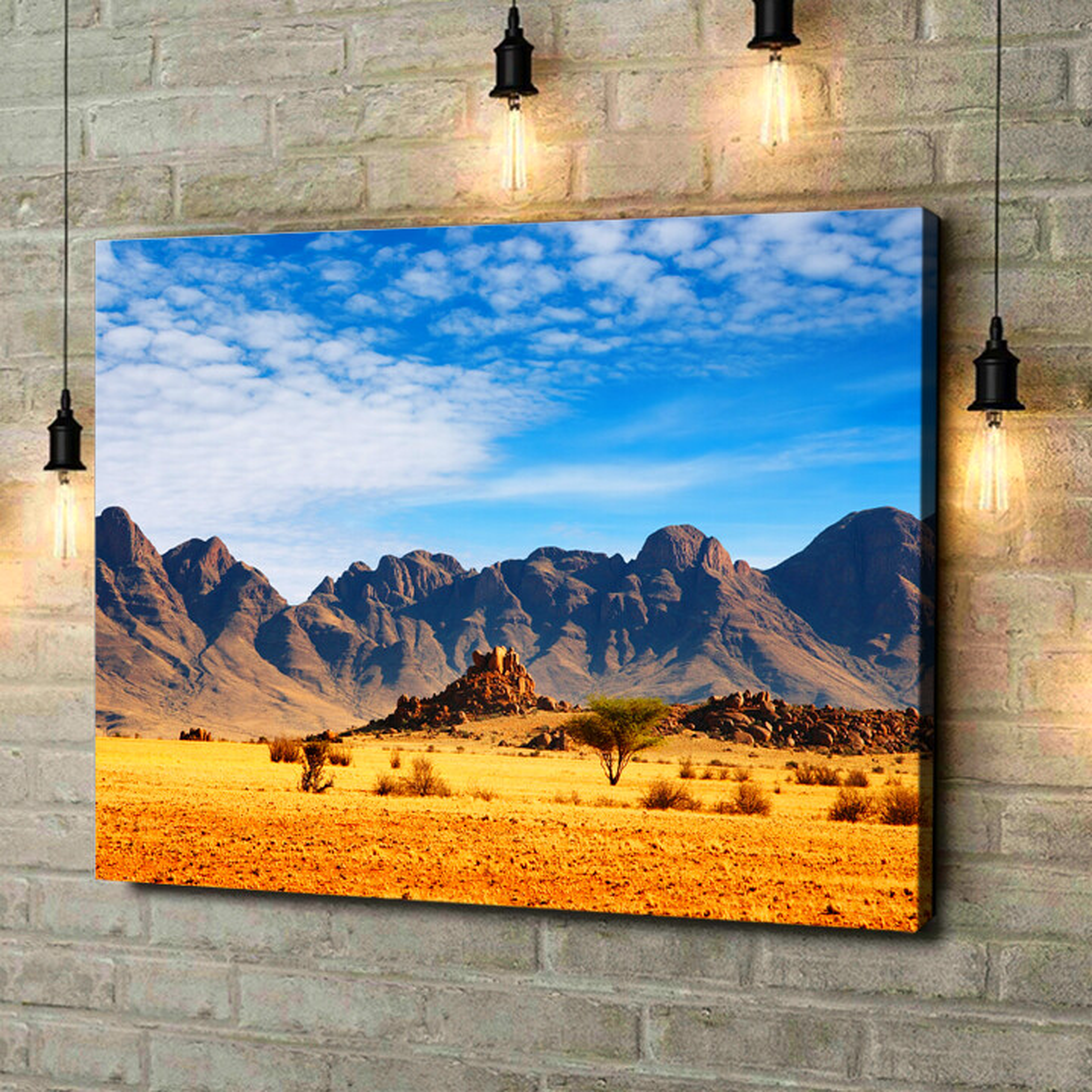 Leinwandbild personalisiert Namibia Wüste in Namibia