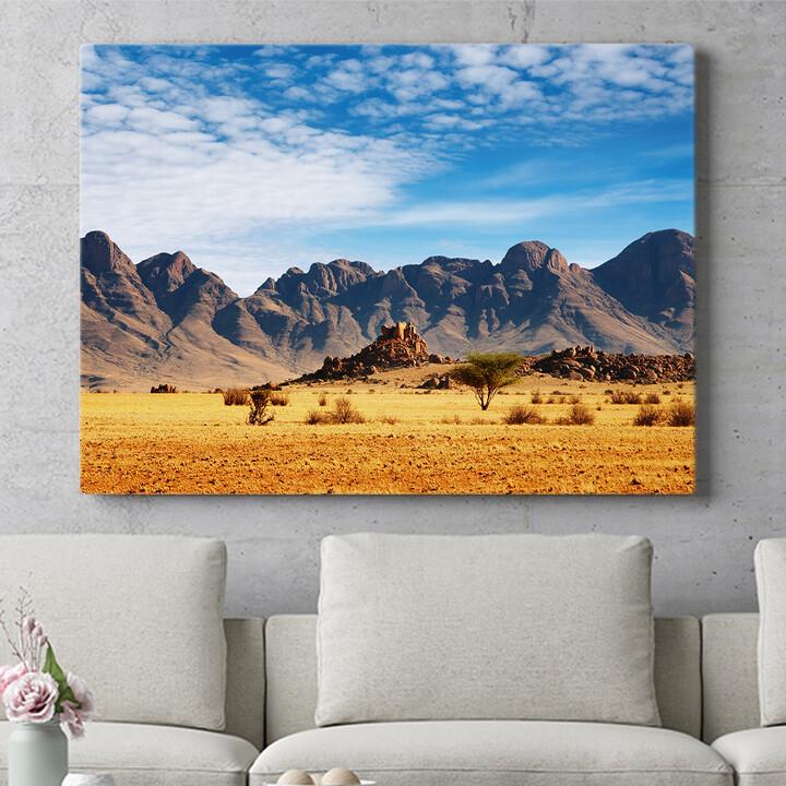 Personalisierbares Geschenk Namibia Wüste in Namibia