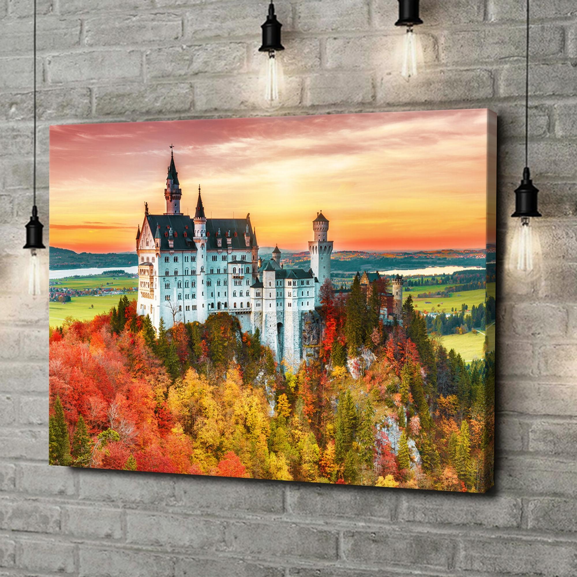 Leinwandbild personalisiert Schloss Neuschwanstein