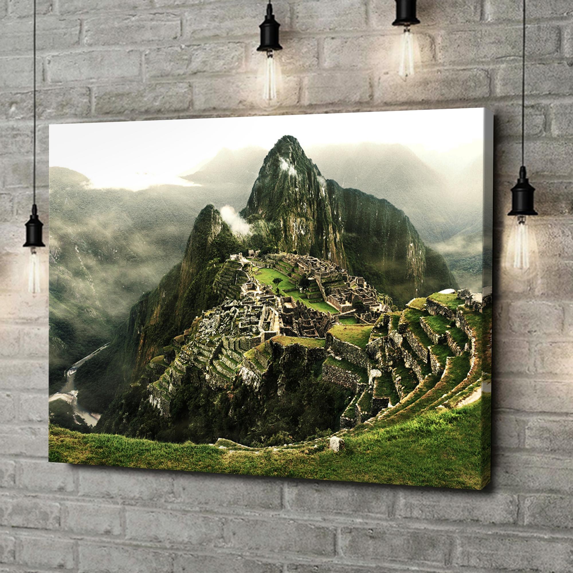 Leinwandbild personalisiert Machu Picchu