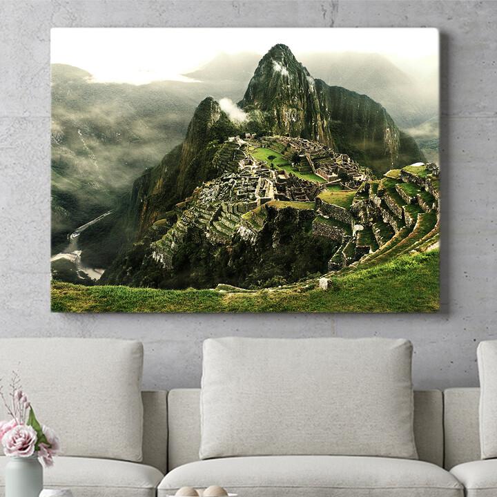 Personalisierbares Geschenk Machu Picchu