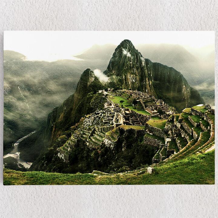 Personalisiertes Leinwandbild Machu Picchu