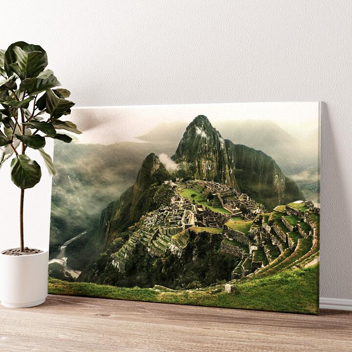 Machu Picchu Wandbild personalisiert