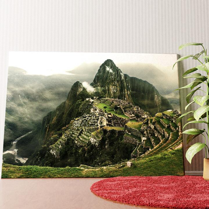 Personalisiertes Wandbild Machu Picchu