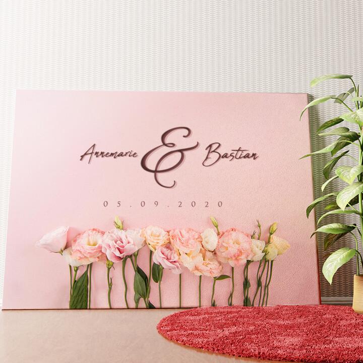 Personalisiertes Wandbild Flowers