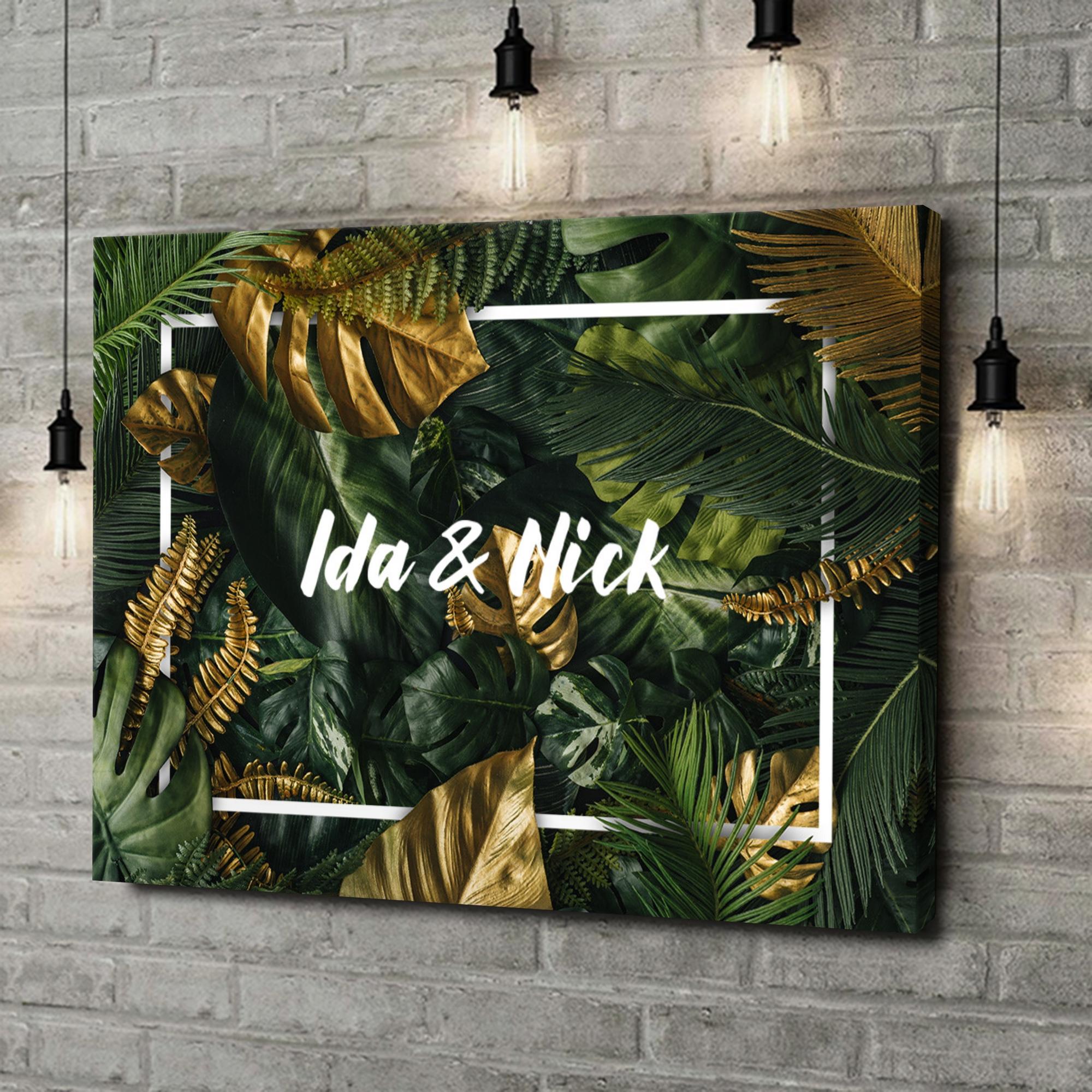 Leinwandbild personalisiert Jungle