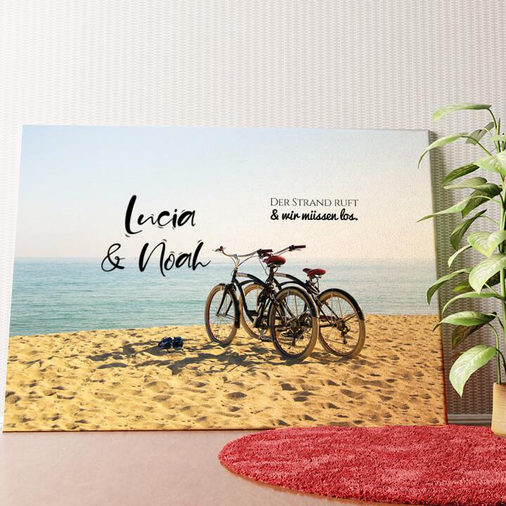 Personalisiertes Wandbild Cycling Moments