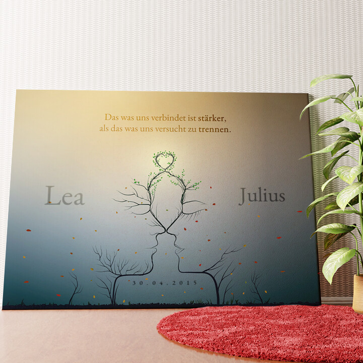 Personalisiertes Wandbild Eternity