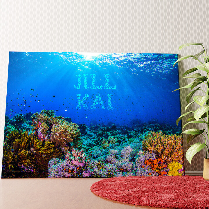 Personalisiertes Wandbild Under the Sea