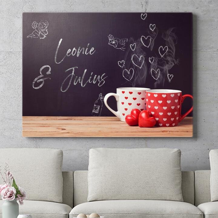 Personalisierbares Geschenk Chalkboard